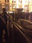 На Майдане Незалежности устанавливают ограждения и палатки